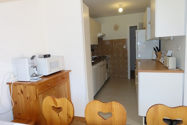 Spacious 2 bedroom apt with amazing views - Val-d'Illiez - Lägenhet