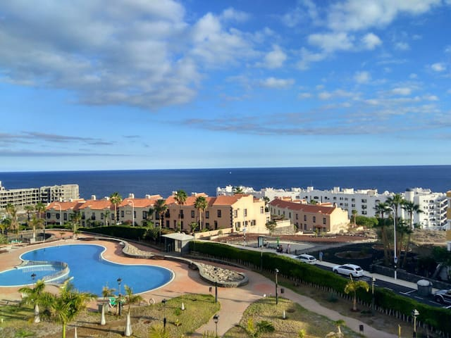 Silent Awakening with ocean view and swimming pool - Santa Cruz de Tenerife - Apartament
