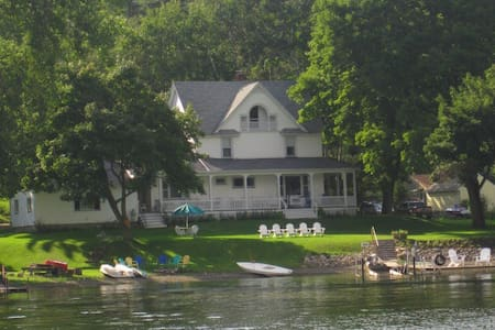 Historic 1880s Cottage on Conesus Lake - Conesus - Hus