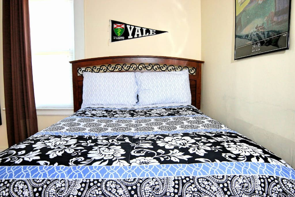 Fully furnished room with freshly set of pillows & linen for each & every new guest