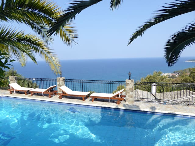 Pelion Spectacular Seaview Suites. - Agios Ioannis Mouresiou - Wohnung