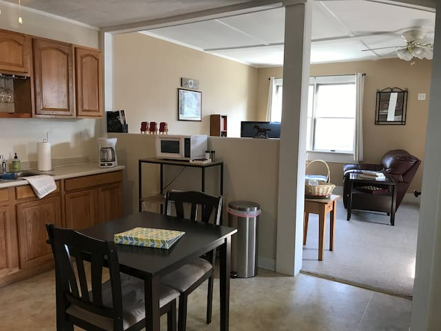 East Side 1 bdrm-Walk To Downtown & Track