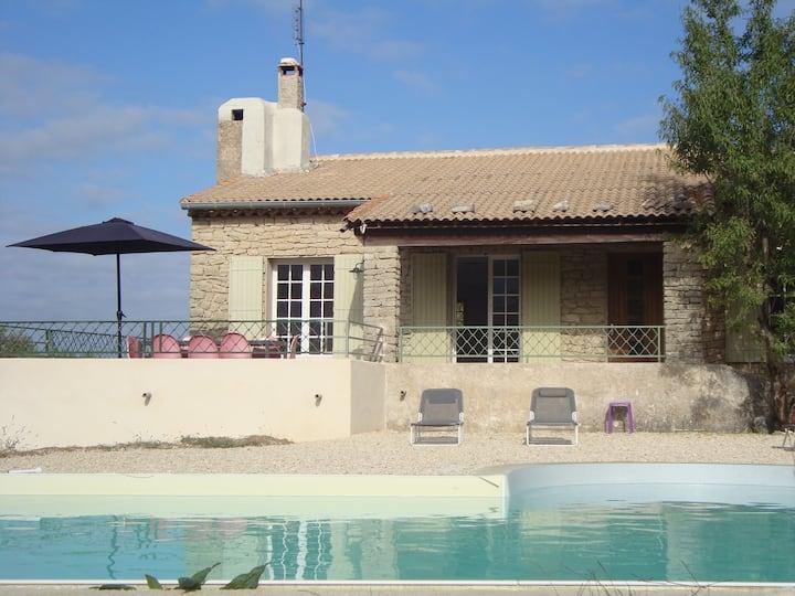 Maison avec piscine privative et vue magnifique