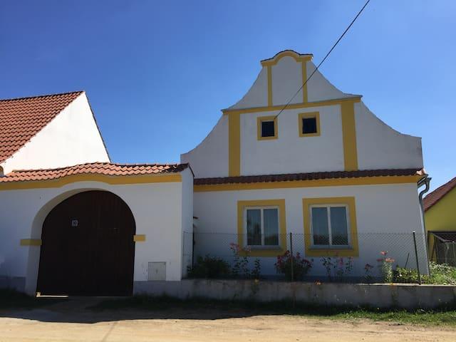 Historical farmhouse close to Bechyně - Hodonice