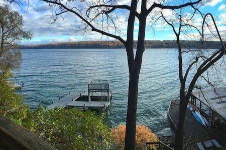 Beautiful Cayuga Lakehouse - Ithaca - Hus