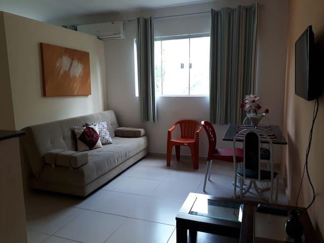 Aluga-se apartamento mobiliado  mensal e temporada