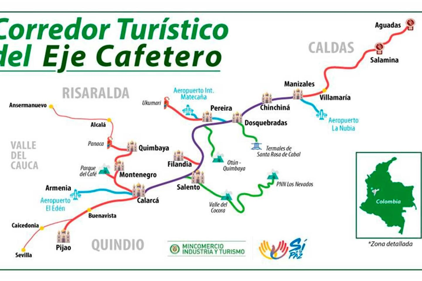 Beautiful Resting place on the EJE CAFETERO!!!