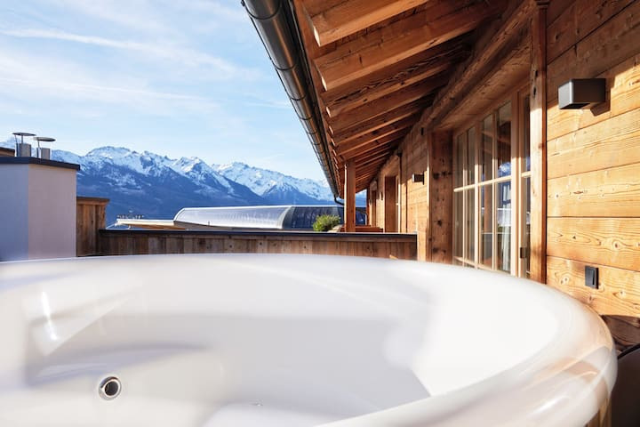 Luxury Penthouse ski in & out Kitzbuhel ski area