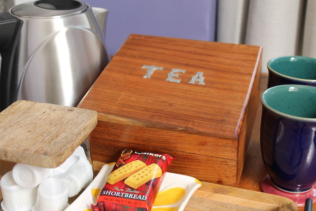 Typical Tea Tray in your room