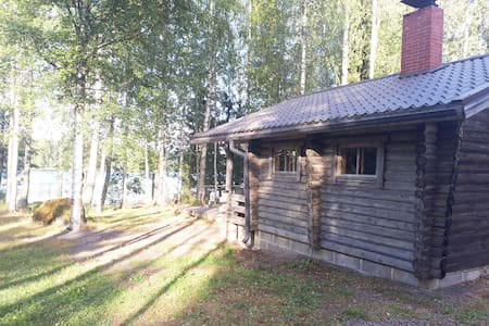 Lakeside cottage at Kyykoski