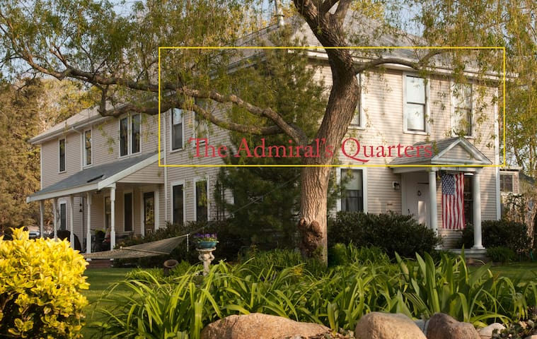 Downtown Falmouth-Admiral's Quarters