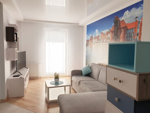 Blue Sea- Lęborska Apartment