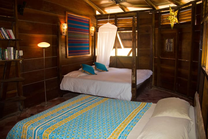 Rancho Master, King bed and double bed.