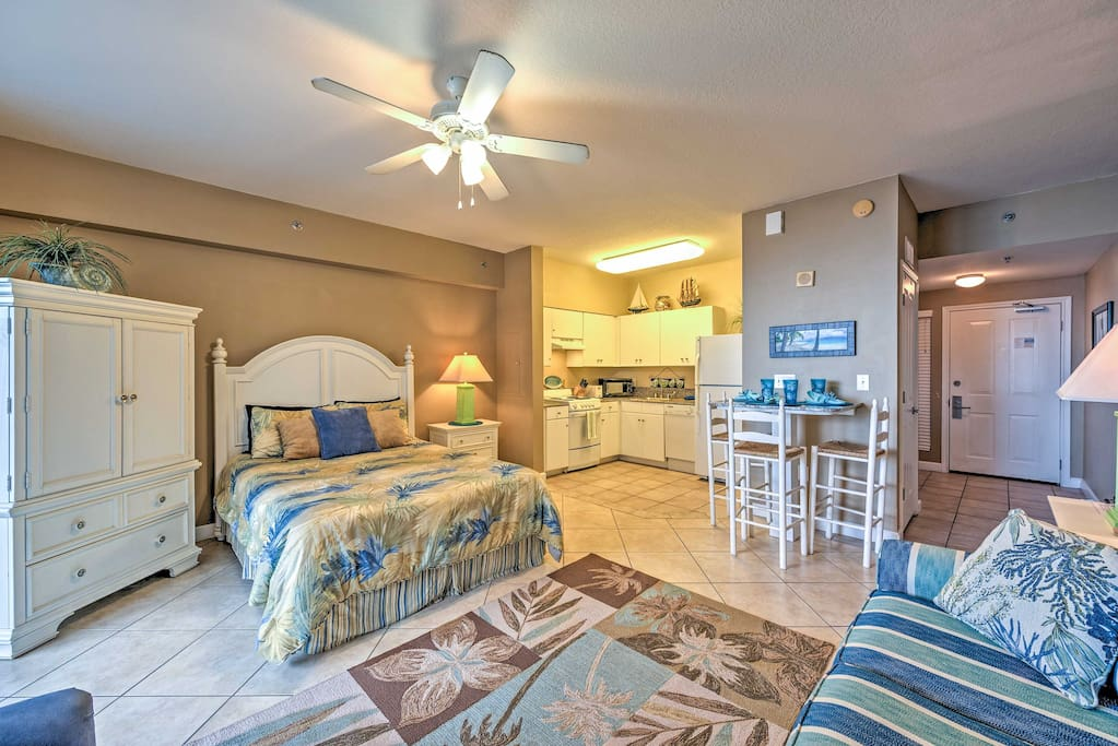 Inside, you'll find all of the comforts of home!