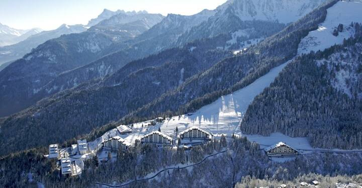 New Year's Eve on the skipistes in Torgon