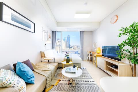 #7 Clean & cozy room right next to Gangnam Station
