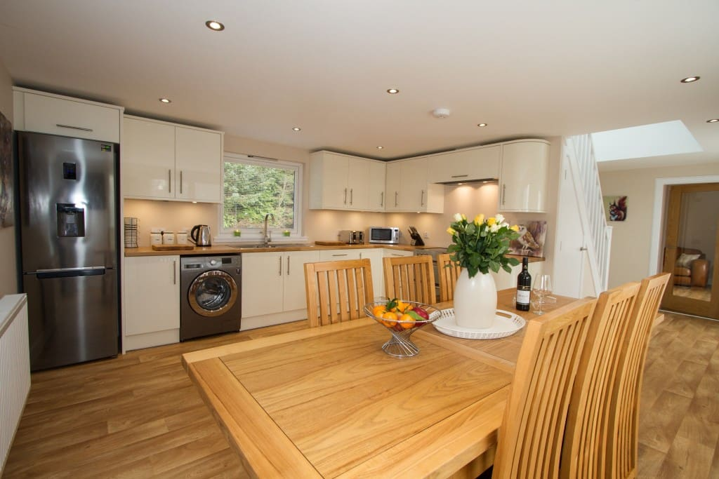 Family Open Plan Kitchen Diner