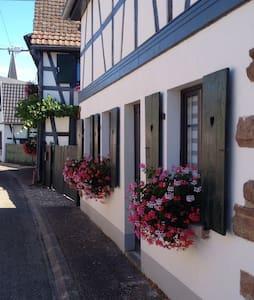Gîte Kelsch, ensoleillé,calme - Sundhouse - บ้าน