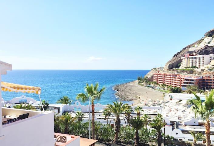 Oceanview Penthouse: Playa del Cura, Mogán - Mogán - Flat