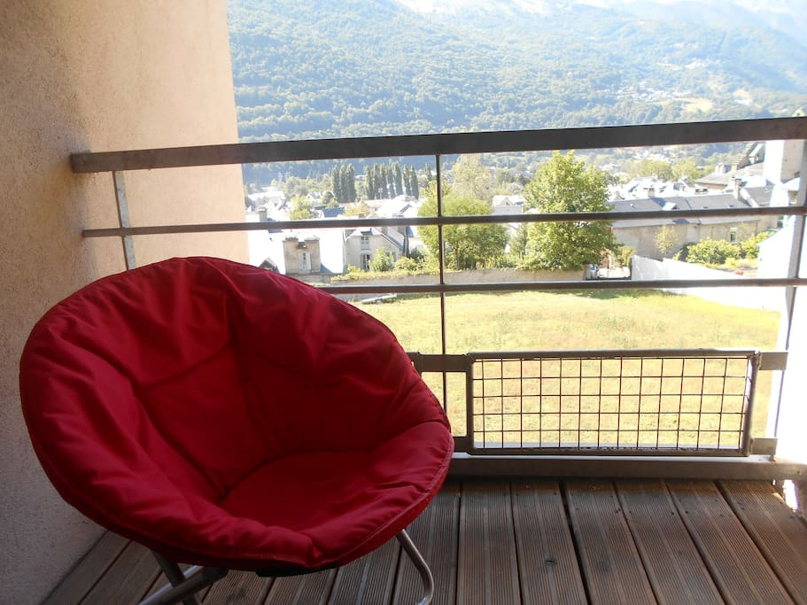 vue du balcon loggia