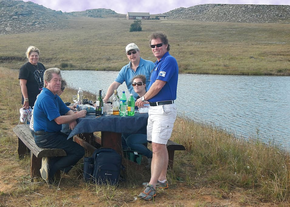 picnic at the dam are very special