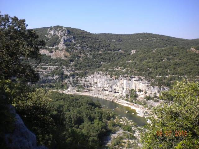 Spéciale triathlon des gorges de l'Ardèche - Saint-Martin-d'Ardèche - Flat