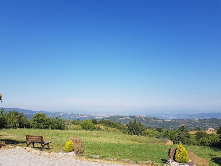 Bilocale con Veranda Terme Bagni San Filippo