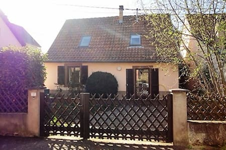 Maison proche route des vins - Gresswiller - Haus