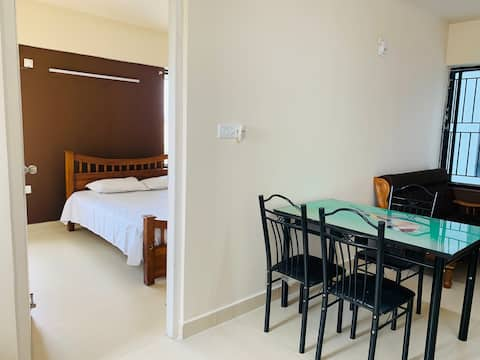 1 Bedroom Hall Furnished Flat at InfoPark Kakkanad