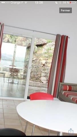 Santa giulia mini villa T2 vue mer exceptionnelle - Porto-Vecchio - Villa
