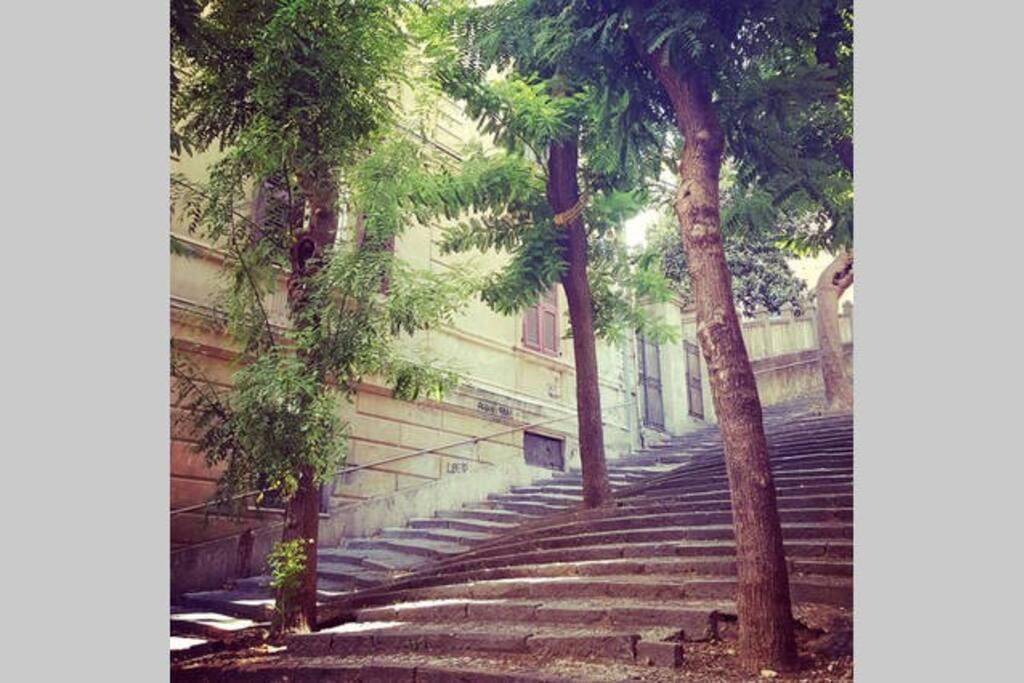 Stairs way Cernaia