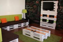 sala de estar - TV