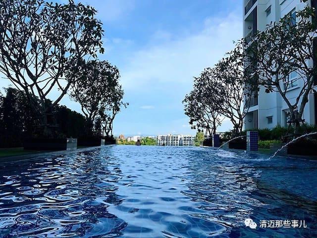 清迈慢生活的宁静小公寓 chiangmai supalai monte2