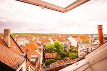 Ausblick über Erlangen