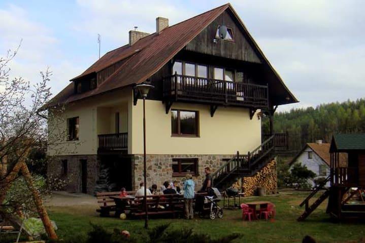 Pokój w pensjonacie -Leśniczówka Wieżyca- Kaszuby - Szymbark - Apartament