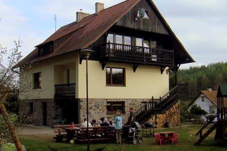 Pokój w pensjonacie -Leśniczówka Wieżyca- Kaszuby - Szymbark - Huoneisto