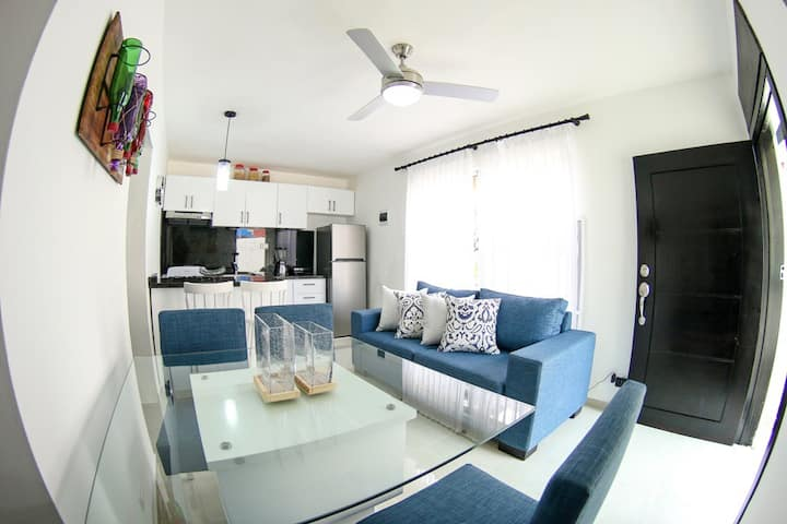49-Stylish one bedroom apartment for rent in Sosua