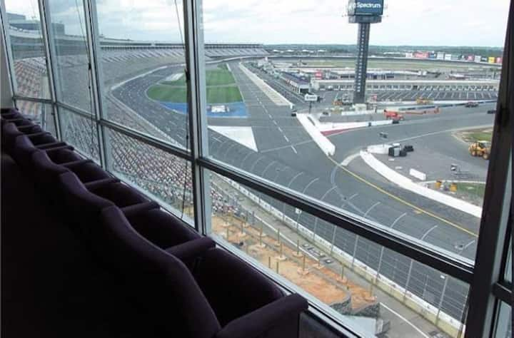 First Turn Condo at Charlotte Motor Speedway!
