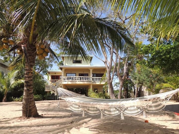 Caribbean private beachfront