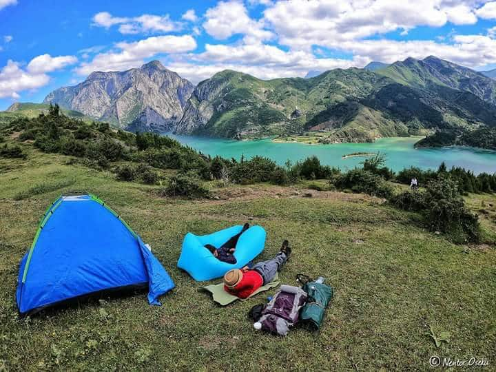 Camping Places( Aprripa) Komani Lake