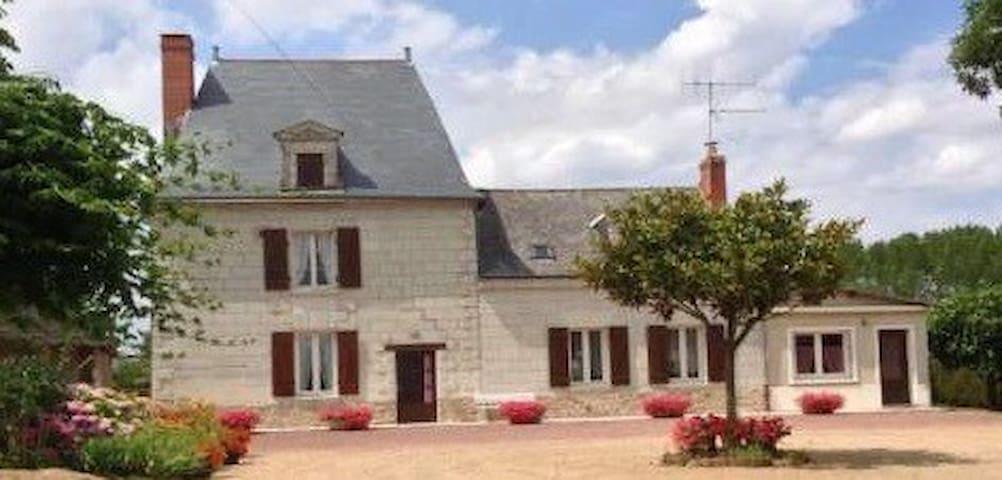 Chambre d'hôtes entre Angers / Saumur proche Loire