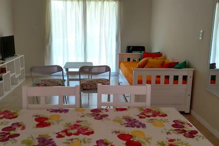 Departamento con jardín en Villa General Belgrano - Villa General Belgrano - Leilighet