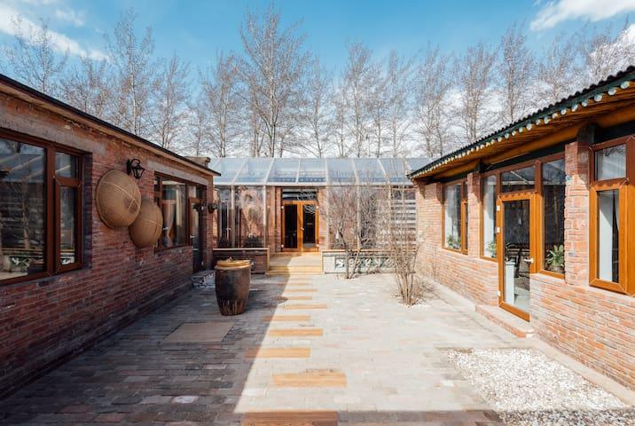主题民宿-留筑雅舍 京郊度假首选之地 独享清静 - Peking - Dům