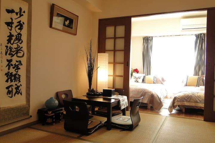 japenese apartment2 日式舒适民宿 - Naniwa-ku, Ōsaka-shi - Pis