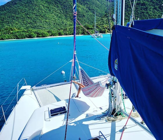 Private Catamaran-Jost Van Dyke - Stunning views! - Parham Town