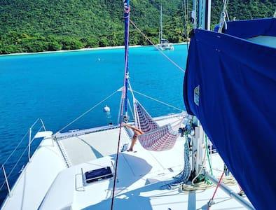 Private Catamaran-Jost Van Dyke - Stunning views! - Parham Town - Vene
