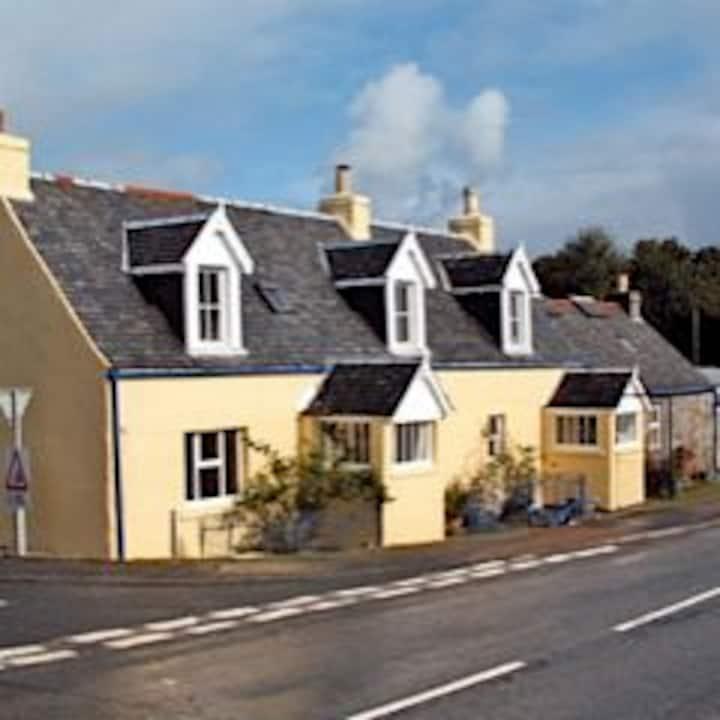 Isle of Mull, Puffer Cottage,  in Salen Village