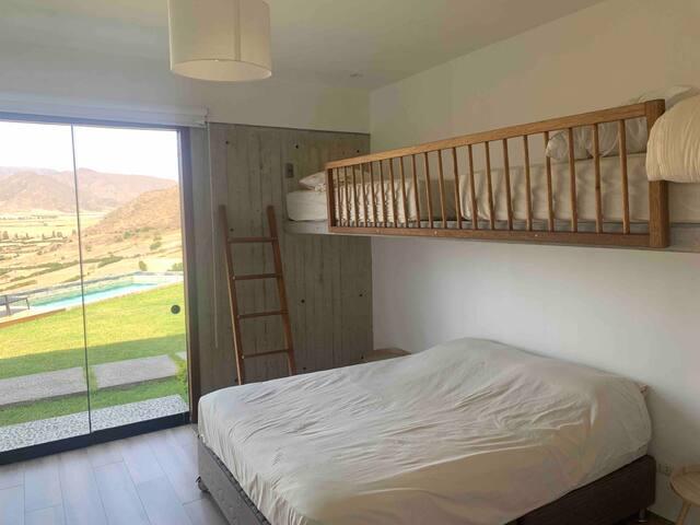 Dormitorio 1 y Vista