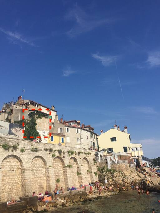 Santa croce (Sveti kriz) 57a  Casa Galiola