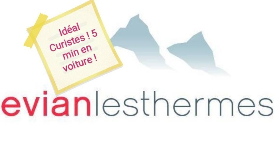 Appart à deux pas d'Evian et des pistes de ski !